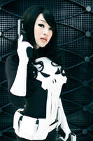 Bishoujo Lady Punisher Cosplay by VampBeauty
