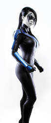 Nightwing Stance by VampBeauty