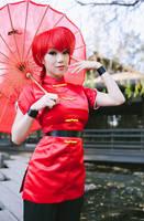 Ranma Saotome Girl Type Cosplay by VampBeauty
