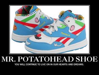 Mr Potatohead Shoe by Aosou-kun