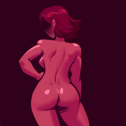 pink girl by rakintorworld