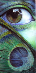 Green eye by Rivan145th