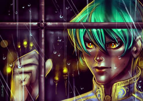 It's raining Kaiba by Rivan145th