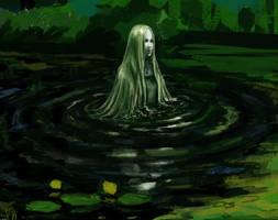 - WIP - Swamp Lady and Troll by BabushkaYaga