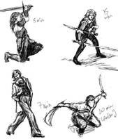 Sketches 1 by BabushkaYaga