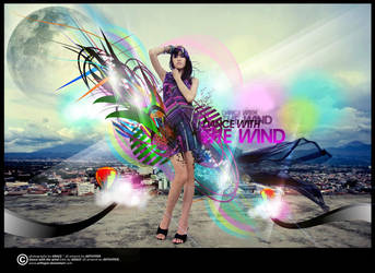 .:Dance With The Wind:. by arthyper