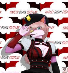 Roxy Harley Quinn by RainRedfox
