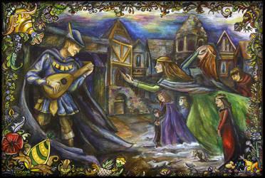 Der Rattenfanger von Hameln by Ephy-Drow