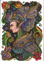 Elven girl by Ephy-Drow