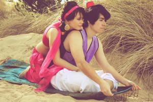 Jasmine And Aladdin II by Sarahmillerphoto