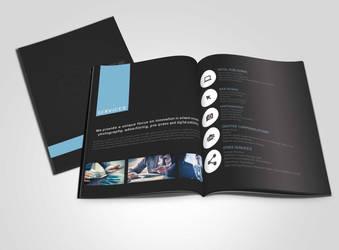 Brochure Mockup by AkaSling