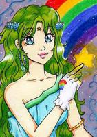 ACEO 078 - Make a wish by Alcea-art