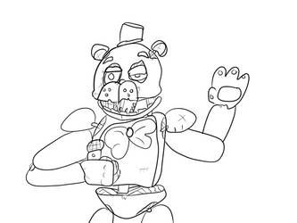 Freddy wip by gamermagee