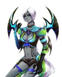 Lady Assassin by Cizu