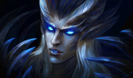 Demonic Skywrath Mage by Cizu