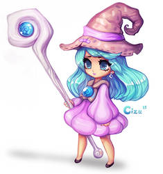 Little Witch by Cizu