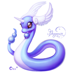 Dragonair by Cizu