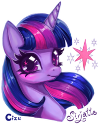 MLP Commission - Twilight for Mewkur by Cizu