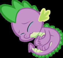 Spike Crying by iamcommando13