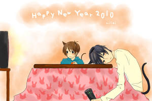 Happy New Year 2010 by milei