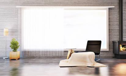 Vray Day interior Scene. by EmilioEx