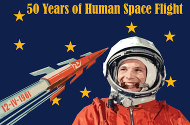 50 years of Human Space Flight by Party9999999