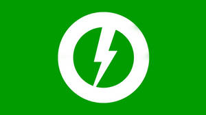 Green Storm Flag by Party9999999