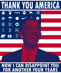 Obama's Next Term by Party9999999