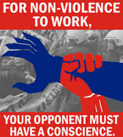 Folly of Non-violence by Party9999999