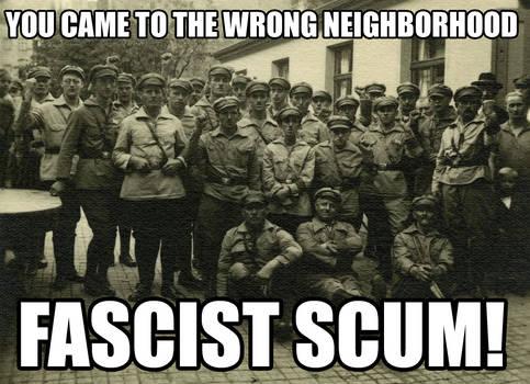 Anti-Fascist Neighborhood by Party9999999