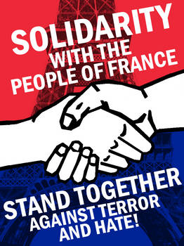 Solidarity with France by Party9999999