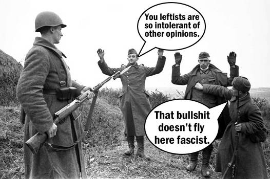 Free Speech for Fascists by Party9999999
