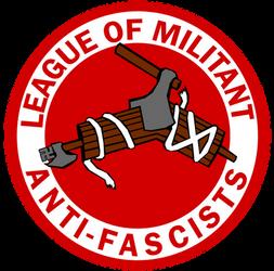 Antifa League Logo Commission by Party9999999
