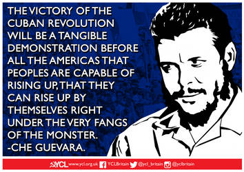 YCL Che Guevara on The Cuban Revolution by Party9999999