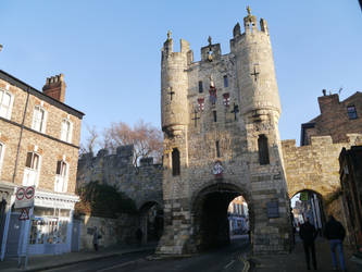 Micklegate Bar by Party9999999