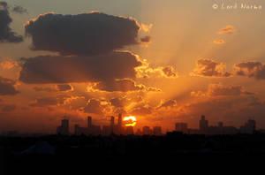 Lovely Sunset by uae4u