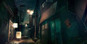 Japanese street by MatteoBassini