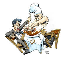 Angry Chef by ryanneal