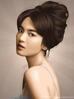Song Hye Kyo by skeuomorph18