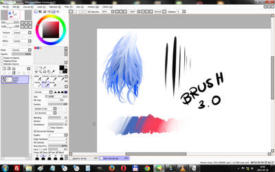 SAI Brushes 3.0 by H4NDS0M3-J4CK