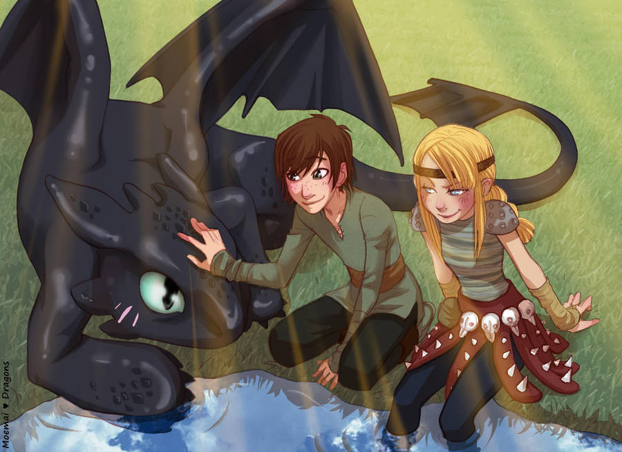 I love Dragons by Moemai