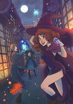 Obscure Halloween by Moemai