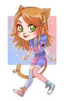 Chibi commission - Harue by Moemai