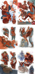 Spideypool by Moemai