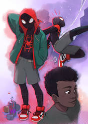 Into the Spiderverse by Moemai