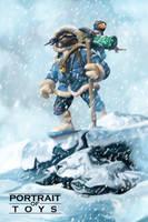 Portrait of Toys - Arctic Donatello by BoscoloAndrea