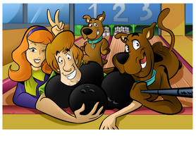 Commission - Scooby Dooby Boowling! by BoscoloAndrea