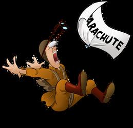 1941 - Parachutist by BoscoloAndrea