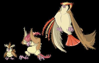 G1 Pokedex - Birds by BoscoloAndrea