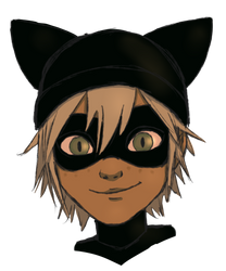 Old Concept Chat Noir by Keyblades-chosen-one